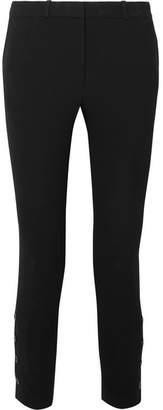 Altuzarra Tristan Cropped Crepe Slim-leg Pants - Black