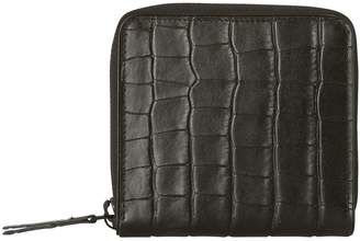Dries Van Noten Crocodile zipped wallet