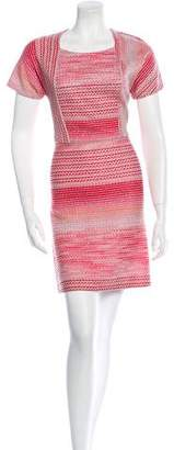 Missoni Metallic Patterned Dress