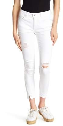 C&C California Forward Mini Vent Distressed Skinny Jeans
