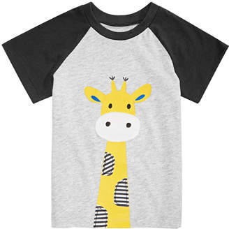 First Impressions Baby Boys Giraffe Graphic T-Shirt