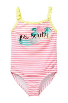 Body Glove 1 PC Striped Swimsuit (Toddler)