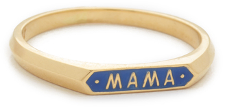 Nora Kogan Mama Signet Ring $310 thestylecure.com