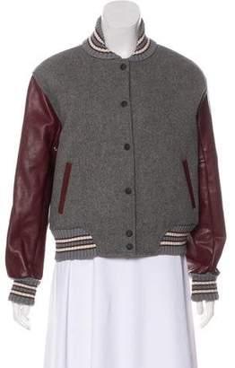 Rag & Bone Wool Bomber Jacket
