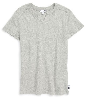 Boy's Splendid Split Neck T-Shirt $22 thestylecure.com