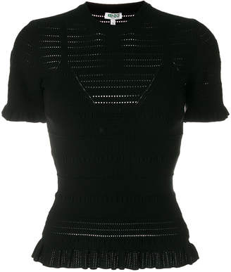 Kenzo perforated top