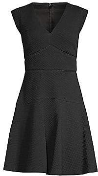 Rebecca Taylor Women's Taylor Jacquard Fit-And-Flare Dress