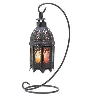 Gallery Of Light RAINBOW MOROCCAN LANTERN STAND