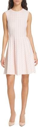 Ted Baker Vellia Flippy Knit Skater Dress