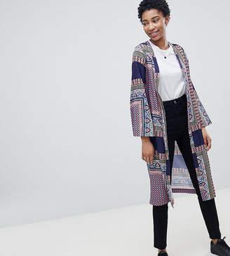 Noisy May Tall Festival Print Kimono