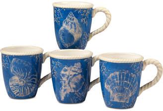 Certified International 4-Pc. Seaside Mugs Set