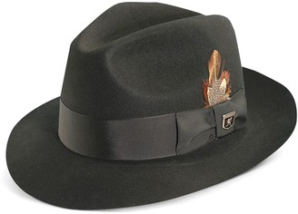 Stacy Adams Men's Cannery Row Wool Felt Fedora