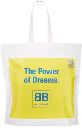 Balenciaga Men's The Power of Dreams Leather Tote