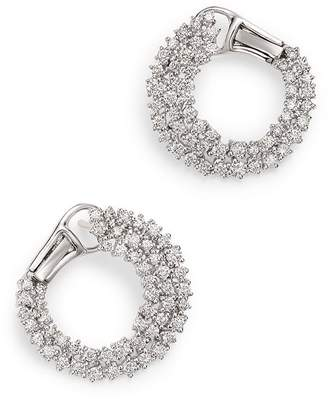 Bloomingdale's Diamond Statement Earring in 14K White Gold, 1.60 ct. t.w. - 100% Exclusive