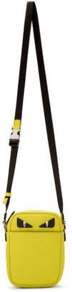 Fendi Yellow Small Bag Bugs Messenger Bag