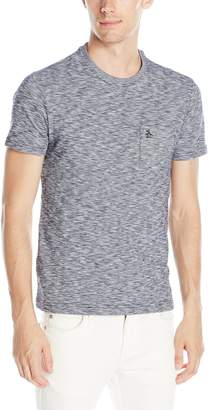Original Penguin Men's Short Sleeve Drop Needle Feeder Stripe T-Shirt