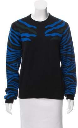 Torn By Ronny Kobo Printed Long Sleeve Sweater