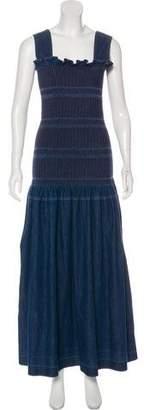 Stella McCartney Denim Maxi Dress