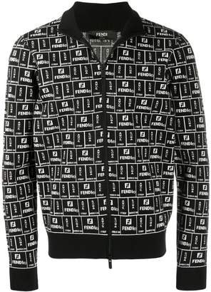 Fendi Roma zipped cardigan