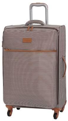 """IT Luggage 27.5\"""" Beach Stripes 4 Wheel Luggage"""