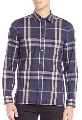 Burberry Nelson Casual Button-Down Shirt