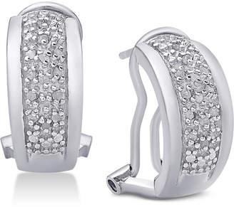 ddb2e81db Diamond J-Hoop Earrings (1/4 ct. t.w.)