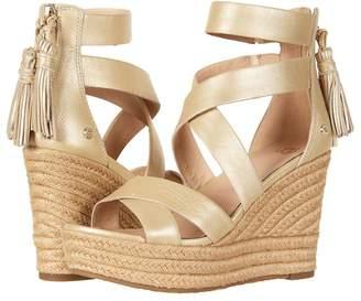 UGG Raquel Metallic Women's Wedge Shoes
