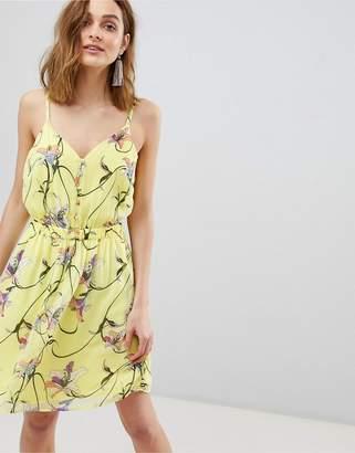 Vero Moda Bright Floral Mini Dress