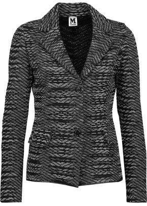 M Missoni Crochet-Knit Blazer