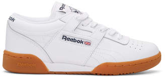 Reebok Classics White Workout Low Sneakers