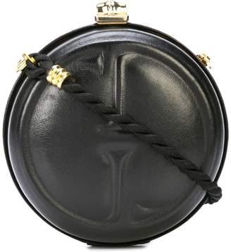 Gucci PRE-OWNED GG kisslock clutch shoulder bag