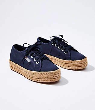 02e19fb2c LOFT Superga Espadrille Sneakers