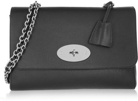 Mulberry Medium Lily textured-leather shoulder bag