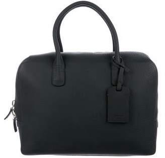 Giorgio Armani Grained Leather Briefcase