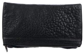 Alexander Wang Leather Fold-Over Clutch