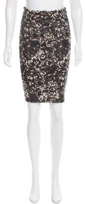 Donna Karan Printed Knee-Length Skirt w/ Tags