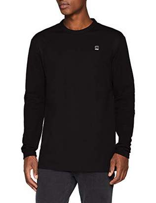 G Star Men's's Motac Dc R T L\s Long Sleeve Top,XX