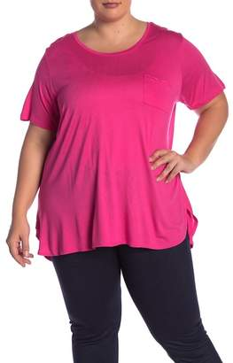 Joe Fresh Boyfriend Pocket Tee (Plus Size)