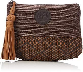 Timberland Women's TB0M5771 Top-Handle Bag Brown