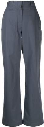 Loewe high waisted wide leg trousers