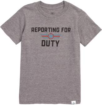Kid Dangerous Reporting for Duty T-Shirt