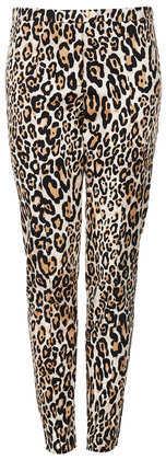 Topshop Animal print skinny trousers