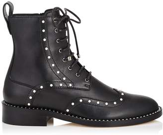 Jimmy Choo Hanah Leather Ankle Boots