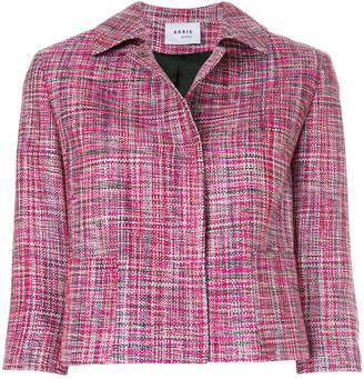 Akris Punto cropped concealed jacket