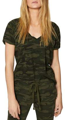 Sanctuary Camo V-neck Tee