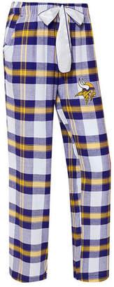 Concepts Sport Women's Minnesota Vikings Headway Flannel Pajama Pants