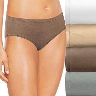 Hanes Ultimate 4-pk. Comfort Soft Hipster Panties 46HUSH