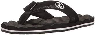 Volcom Boys' Recliner Big Youth FLIP Flop Sandal