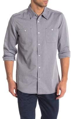 Burnside Patterned Regular Fit Shirt