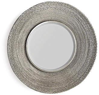 Global Views Twisted Large Wall Mirror - Nickel